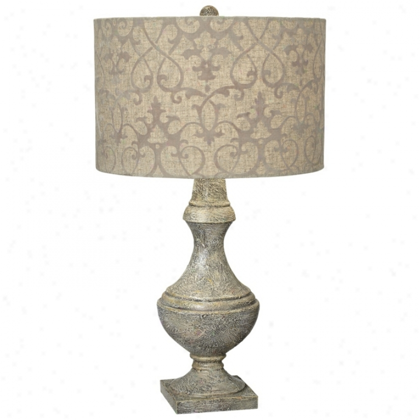 Kathy Ireland Timeless Fine part Contemporary Table Lamp (v2259)