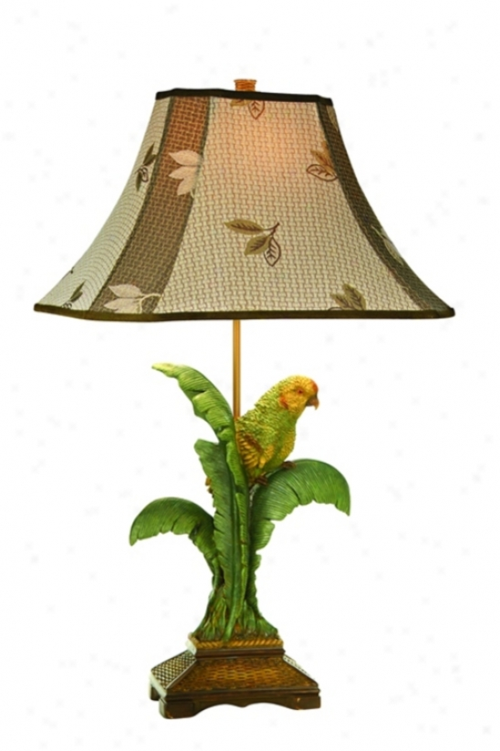 Kathy Ireland Tropical Parrot Table Lamp (80961)