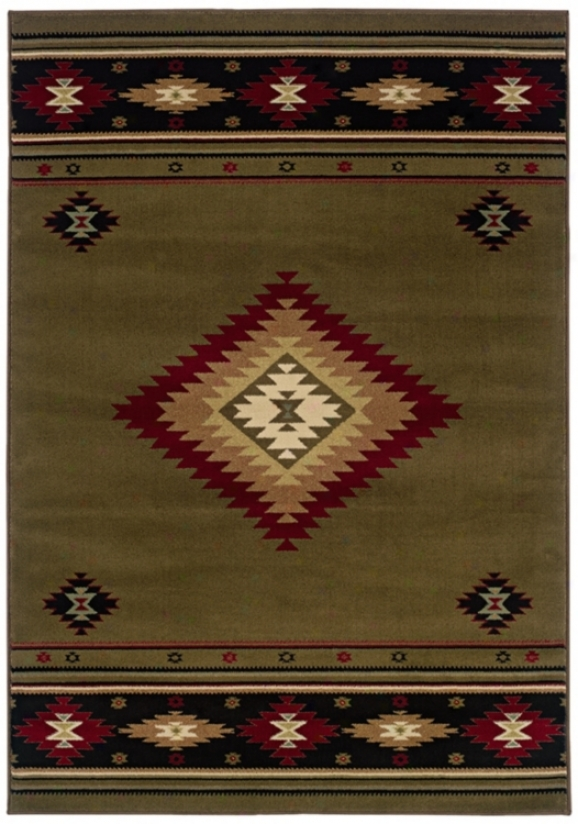 "Kayenta Brown 3' 10""x5' 5"" Area Rug (j1445)"