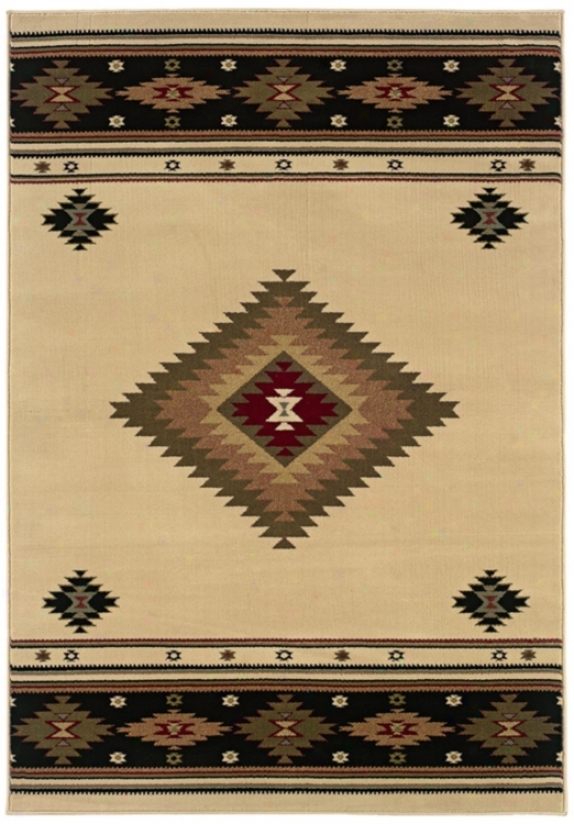 "Kayenta Light 7' 8""x10' 1"" Area Rug (j1580)"