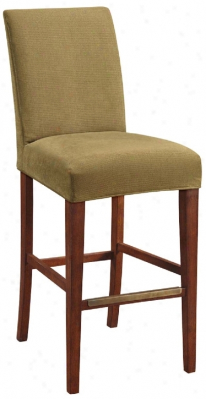 "Keim Slipcovered Straight Leg 32 1/2"" High Barstool (46322-t5397)"