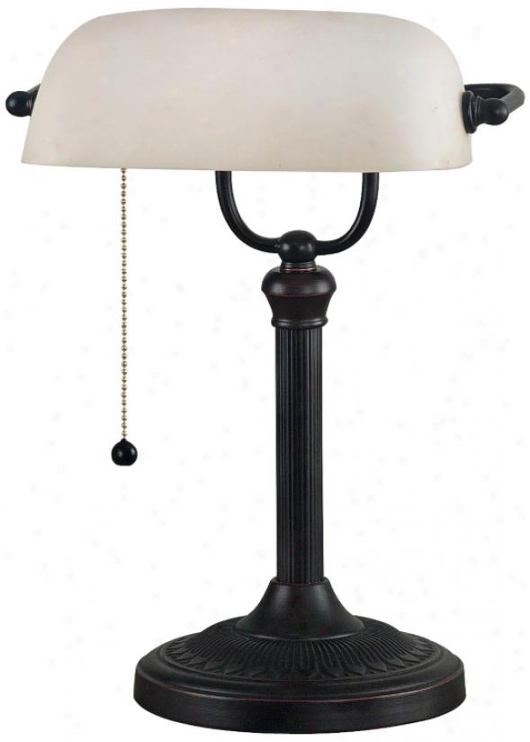 Kenroy Amherst Bankers Desk Lamp (r7811)