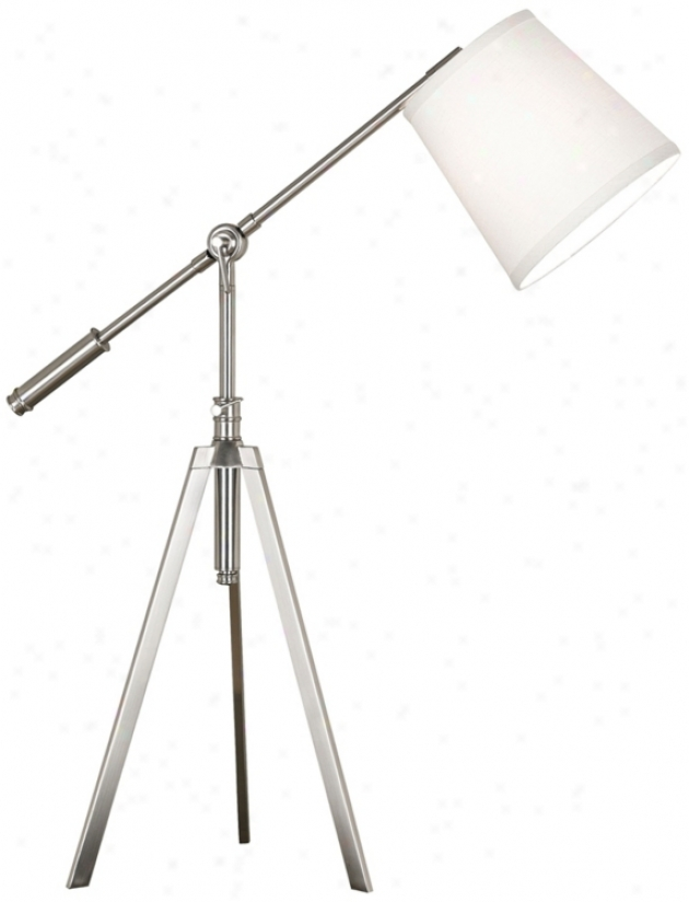 Kenroy Axel Brushed Steel Finish 3-way Desk Lamp (r7816)