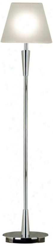 eKnroy Blazt Chrome Finish Floor Lamp (r8350)