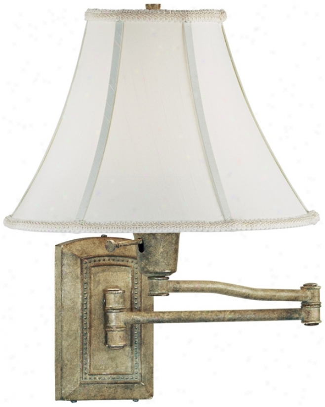 Kenroy Home Isabelle Sea Grass Plug-in Swing Arm Light (r8754)