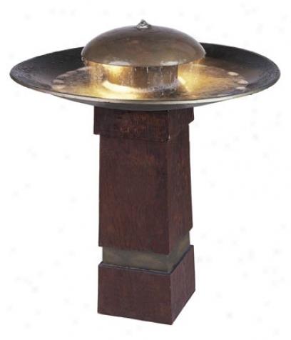 Kenroy Home Portland Sound Indoor - Outdoor Floor Fountain (97330)