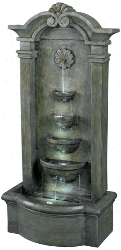 Kenroy Home Sienna Lighted Floor Fountain (j3117)