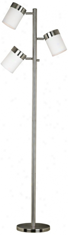 Kenroy Roarke Adjustable 3-light Floor Lamp (r8195)