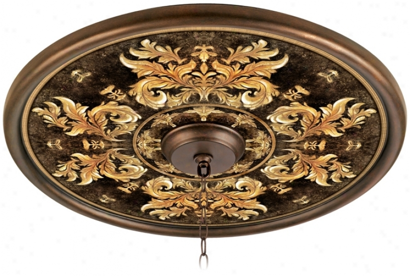 """King's Way 24"""" Giclee Bronze Ceiling Medallion (02777-g7135)"""