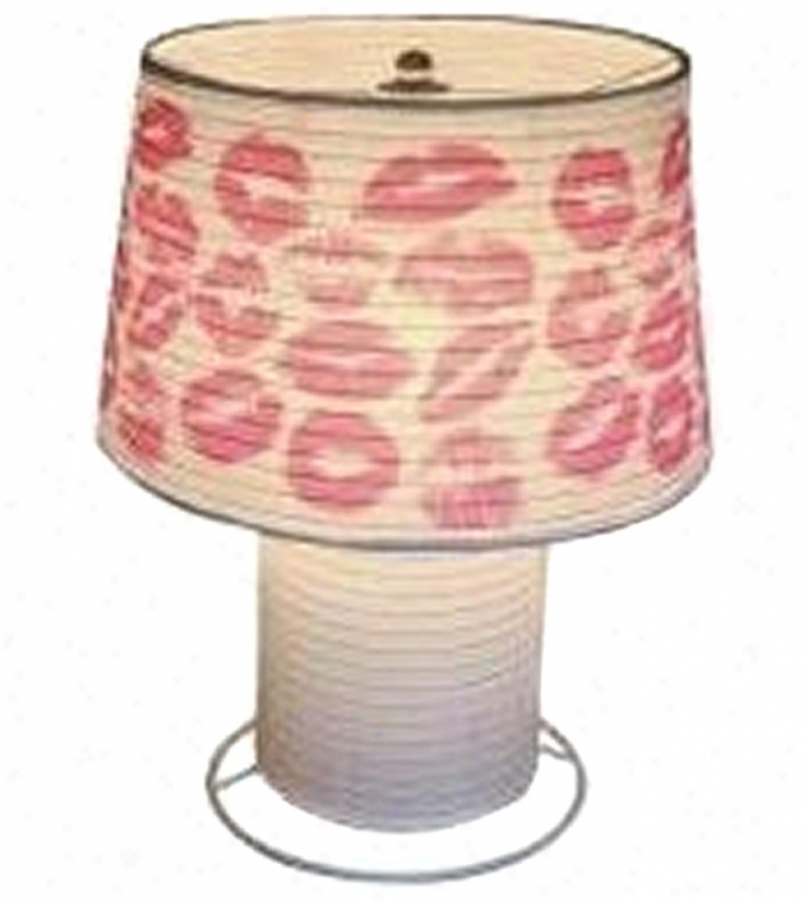 Kiss Paper Lantern Desk Lamp (p6347)