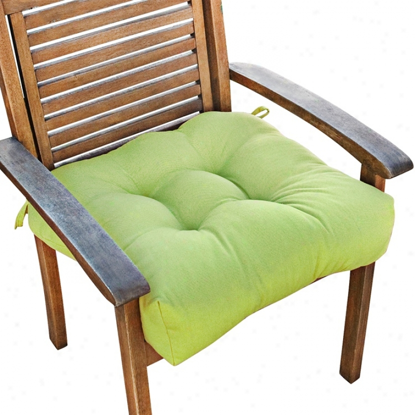 "Kiwi 20"" Square Green Outdoor Chair Cushion (w6240)"