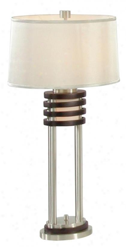kobe dark wood night light table lamp 78298 lighting quality. Black Bedroom Furniture Sets. Home Design Ideas