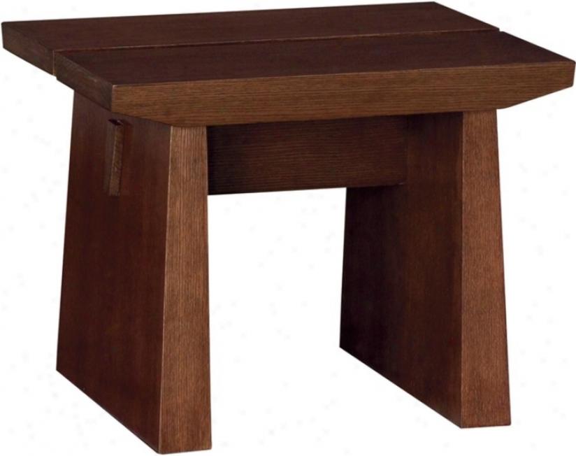 Koga Dark Oak Veneer Party Table (k7470)