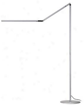 Koncept Gen 3 Z-bar Warm Light Led Modern Floor Lamp Soft and clear  (v6937)