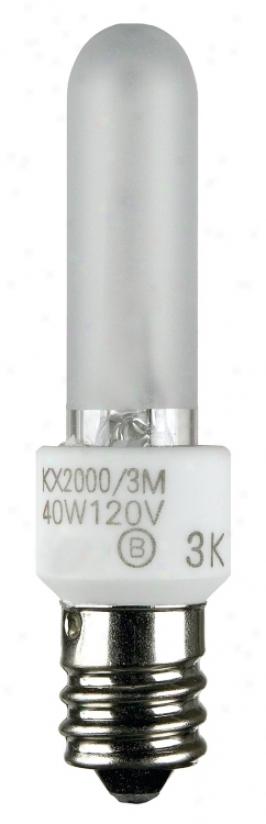 Krypton Kx 2000 40 Watt Candelabra Base Light Bulb (68501)