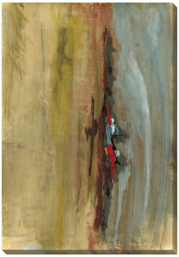 "Landscape Study I Giclee Indoof/outdoor 48 "" High Wall Art (l9857)"