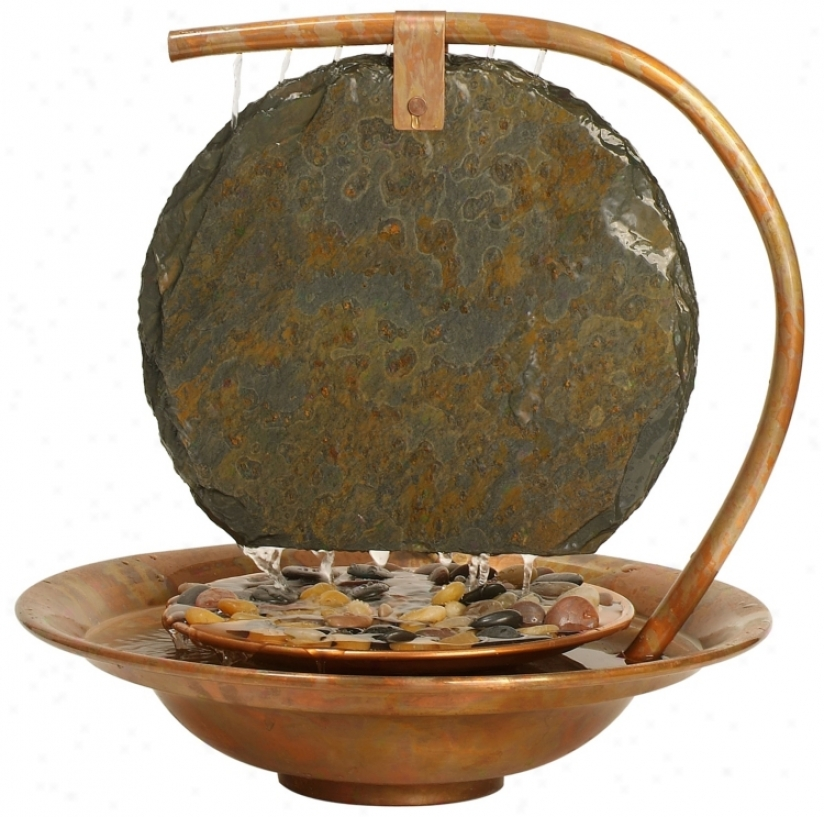 Large  Moonshadow Tabletop Fountain (68647)