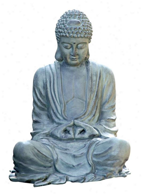 Large Size Garden Buddha Statuary (62033)