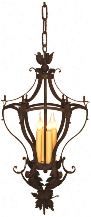 Laura Lee Alexis 4-light Foyer Chandelier (r6346)