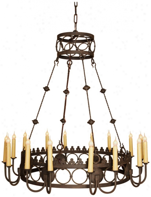 Laura Lee Bergamo 16-light Large Candle Chandelier (r5382)