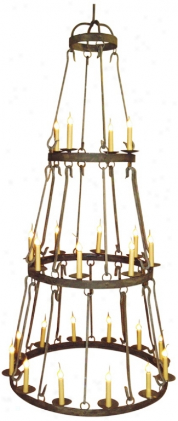 Laura Lee Buckinghma 24-light Large Candle Chandelier (r5349)