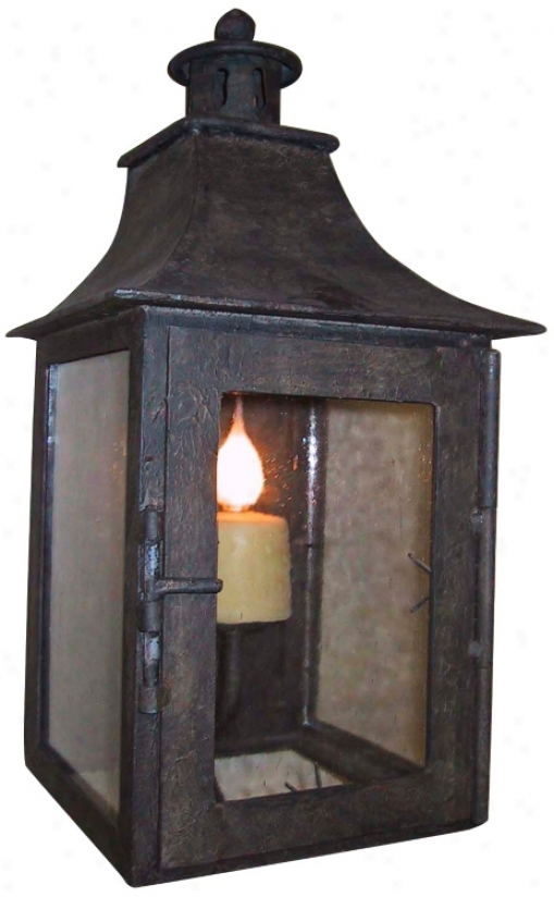 "Laura Lee Half 18"" High Wall Lantern (t3562)"