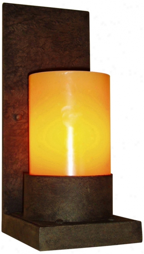 "Laura Lee Mallorca Single Light 12"" High Wall Sconce (t3552)"
