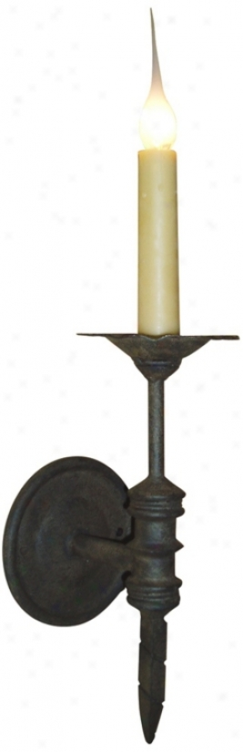 """Laura Lee Single Light Small 13"""" High Wall Sconce (t3440)"""