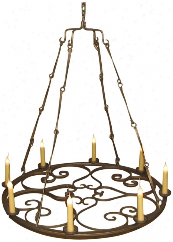 Laura Lee Valentine 8-light Chandelier (r5375)