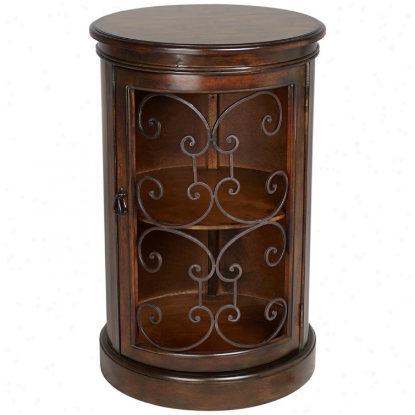 Laurent Durm Accent Table With Metal Details (v1809)