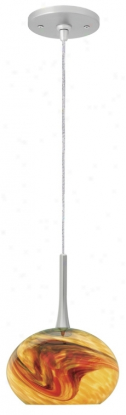 Lbl Neptune I Amber Glass Monopoint Hanging appendage (40269-47250)