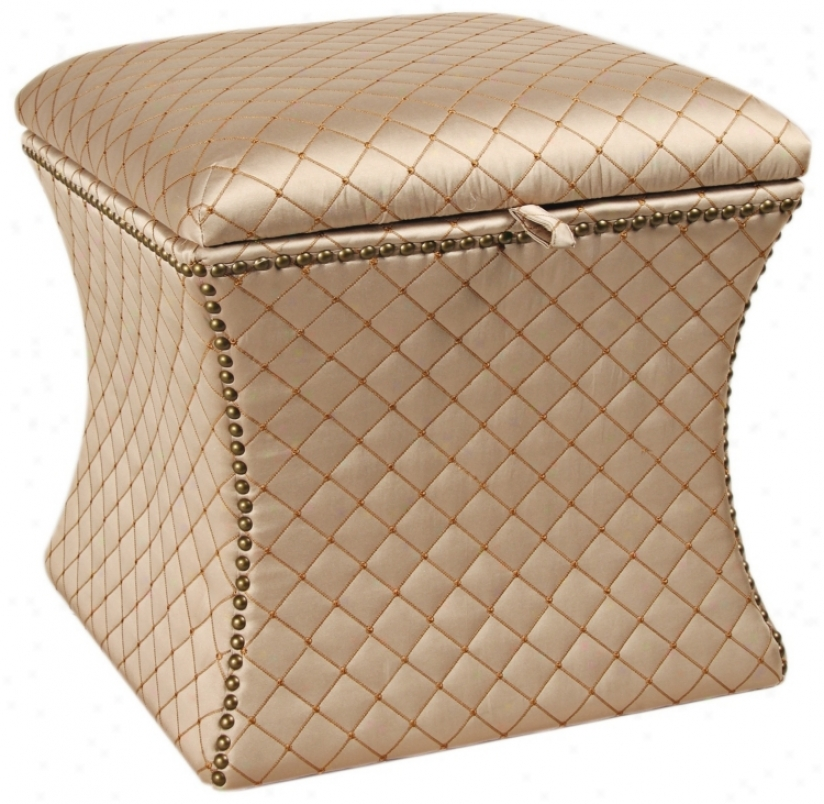 Legacy Quilted Ottoman (u0736)
