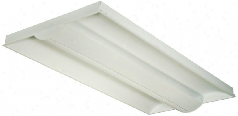 Lightolier 2'x4' Slim Semi-recessed Ceiling Light (95718)