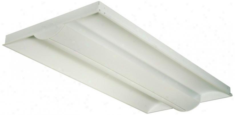 Lightolier 2'x4' Slim Semi-recessed Ceiling Light (95718)