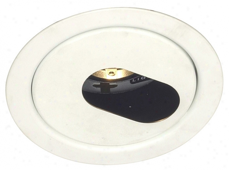 "Lightolier 4"" Low Voltage Slot Aperture Recessed Loght Trim (57588)"