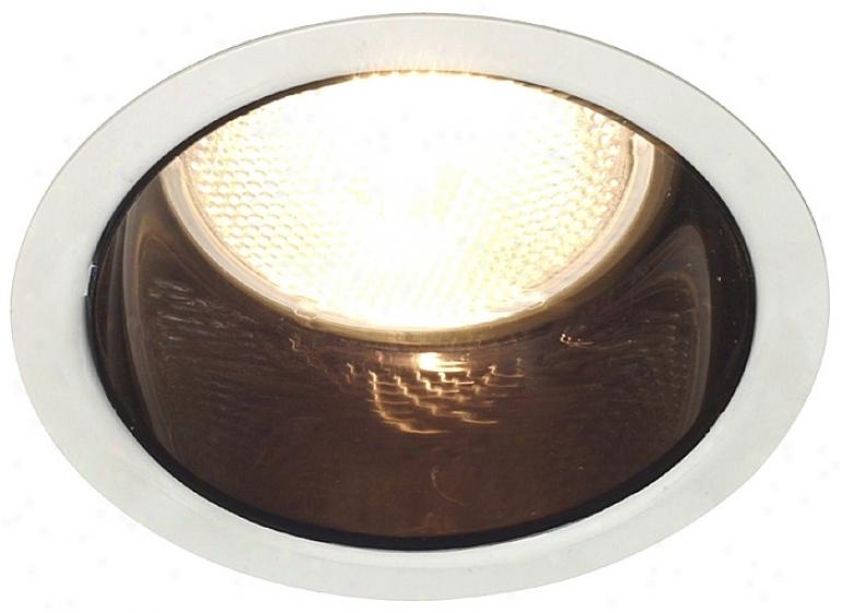 "Lightolier 5"" Line Voltage Adjustable Recewsed Light Trim (03679)"