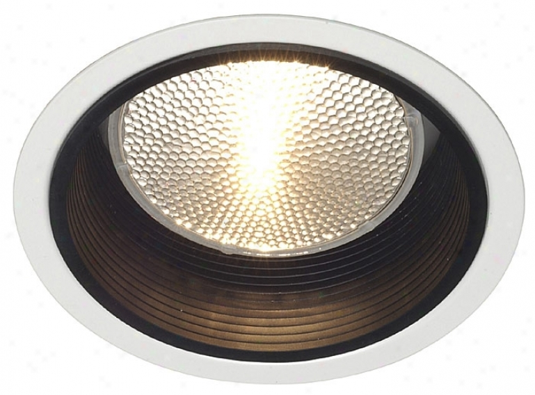 "Lightolier 5"" Line Voltabe Black Baffle Recessed Light Clip (12593)"