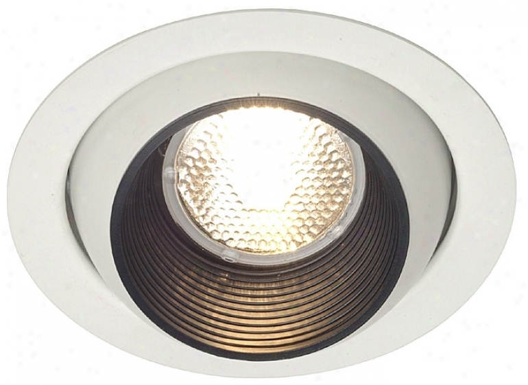 "Lightolier 5"" Line Voltage Eyeball Recessed Aspect Trim (12601)"