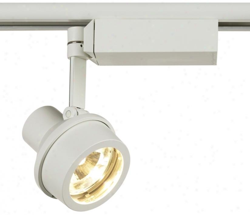 Lightolier Step Spot White Mr 16 Track Light (62725)