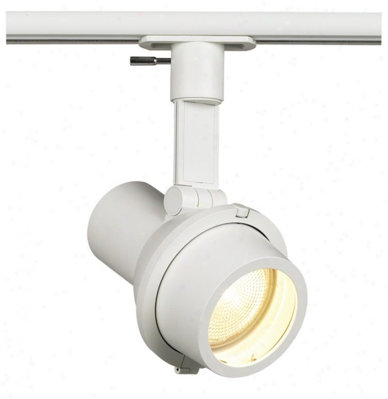 Lightolier Step Spot White Par 20 Track Light (62889)