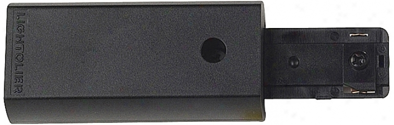Lightolier Surface Conduit Feed Connector In Black (38084)