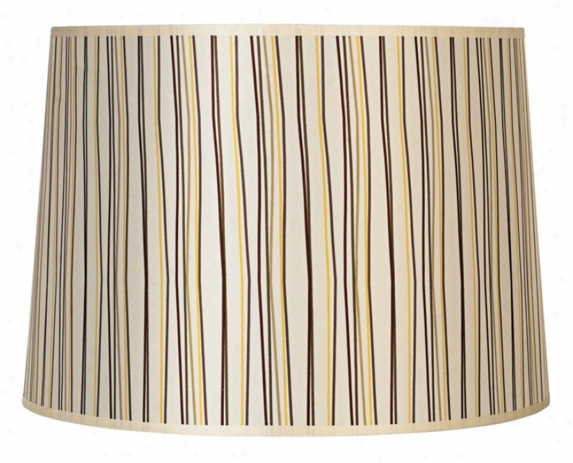 Lights Up! Narrow Stripes Shade 14x16x11 (spider) (g7171)