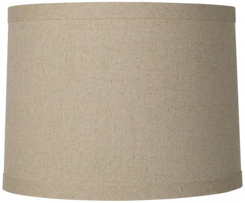 Linen Drum Hardback Shade 15x16x12 (spider) (r0304)