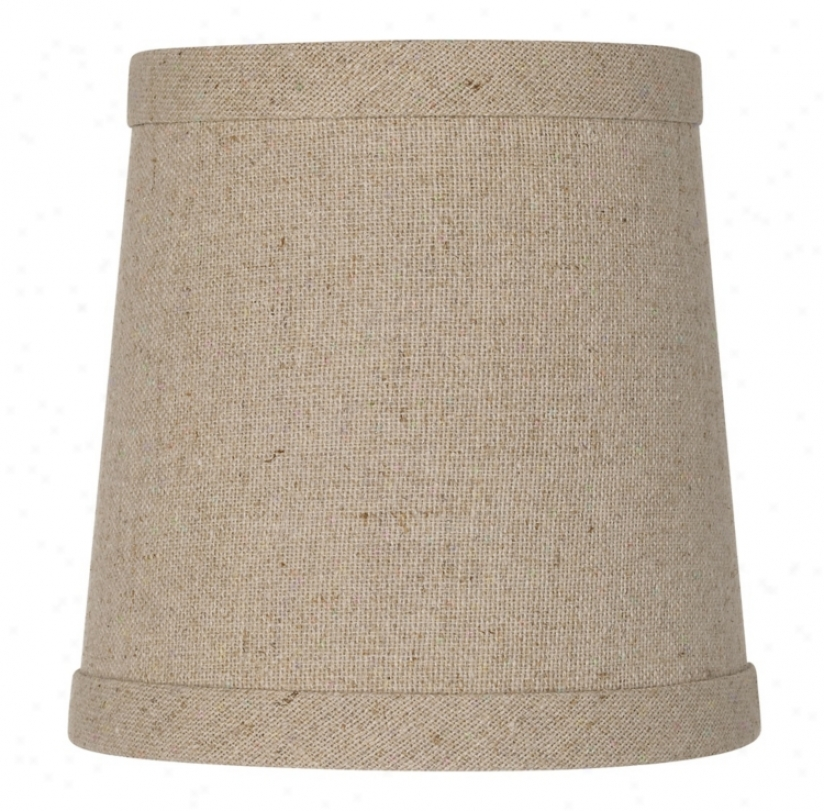 Linen Hardback Shade 4x5x5 (clip-on) (r0302)