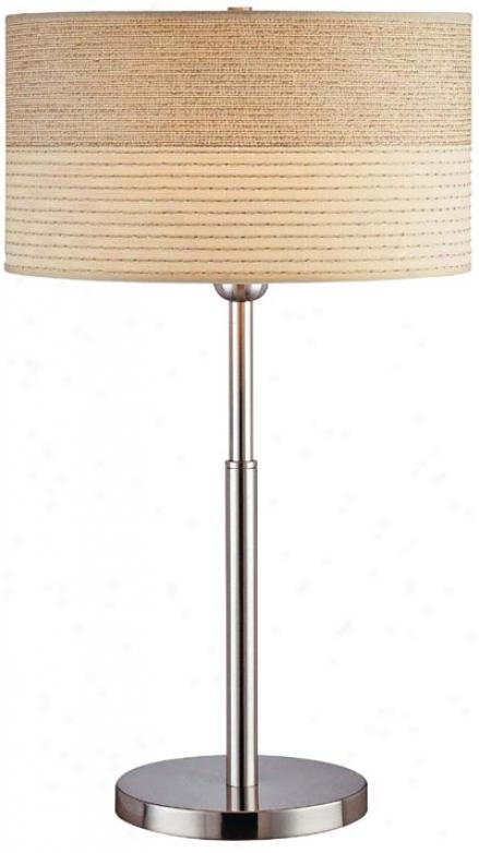 Lite Source Laller Slim-line Table Lamp (f6556)