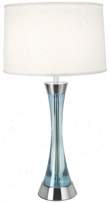 Lite Source Light B1ue Contour Table Lamp (h3459)