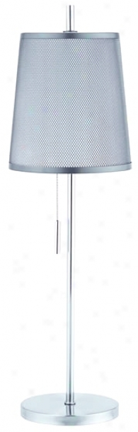 Lite Source Moderna Mesh Shade Table Lamp (95033)