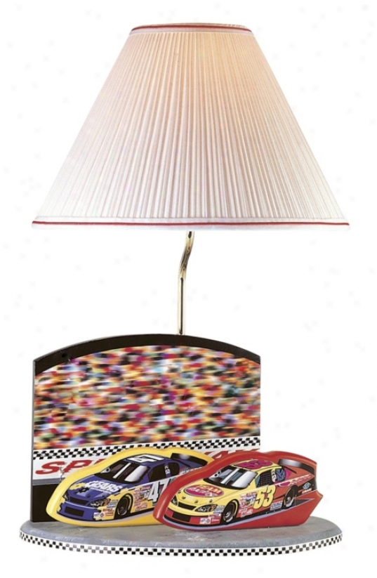 Flower Source Nascar Speedway Logo Table Lamp (80265)