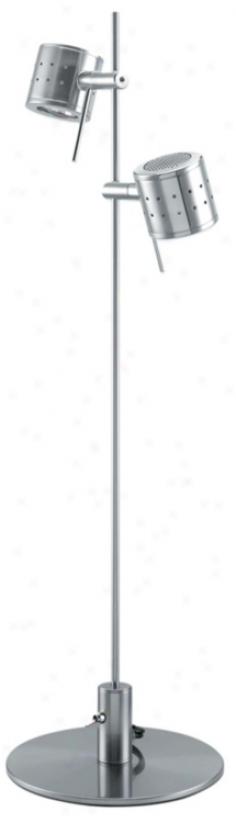 Lite Source Refined Steel Canister Spotlight Deak Lamp (76934)
