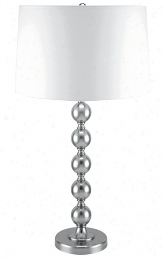 Lite Source Polished Sgeel Table Lamp (72518)